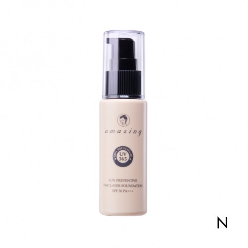 Amazing Sun Preventive Two Layer Foundation SPF 30 PA+++ N