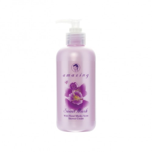 AMAZING SWEET MUSK SHOWER CREAM 300 ml.