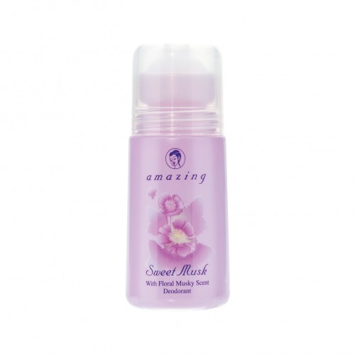 AMAZING SWEET MUSK DEODORANT 50 ml.