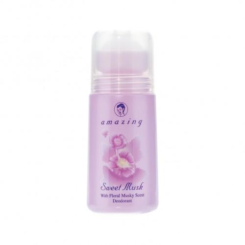 AMAZING SWEET MUSK DEODORANT 50 ml.