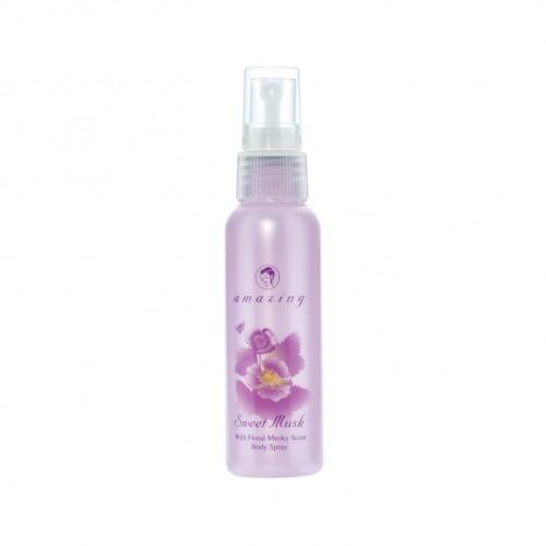 AMAZING SWEET MUSK BODY SPRAY 60 ml.